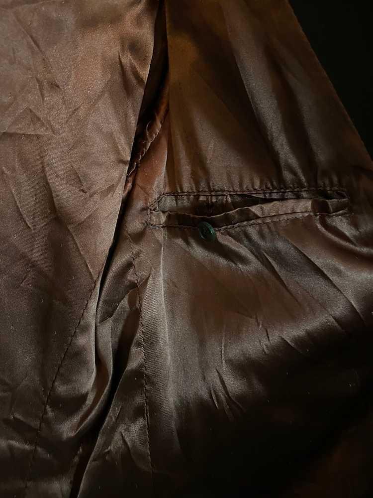 Celine × Vintage VINTAGE Celine Suede Leather Bla… - image 11