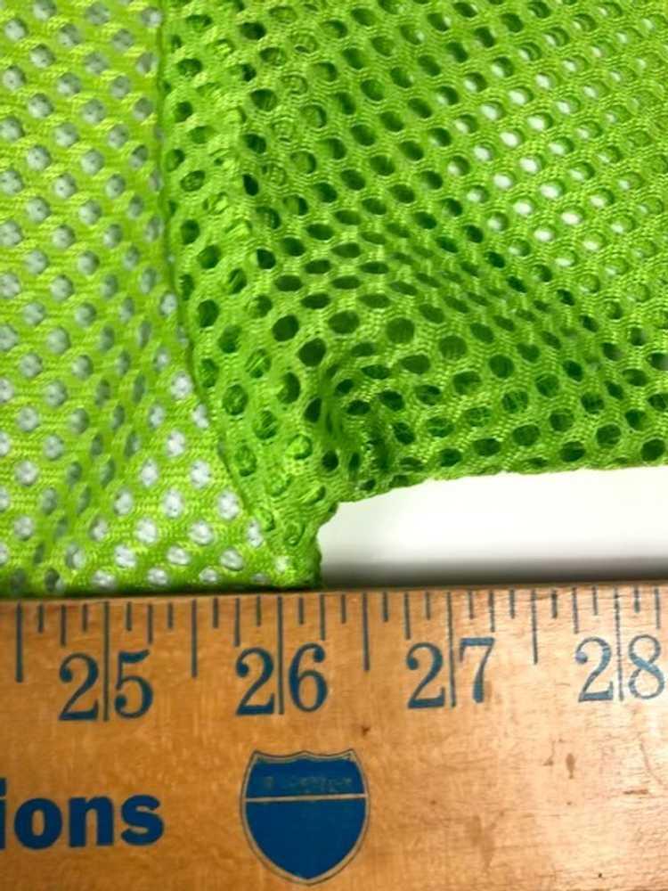 Vintage Tommy Hilfiger Flag Mesh Jersey Green Shi… - image 4