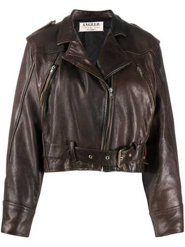 A.N.G.E.L.O. Vintage Cult 1980s leather biker jack