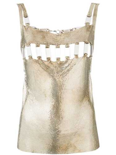 Paco Rabanne Pre-Owned 1990s Disco Mirror blouse -