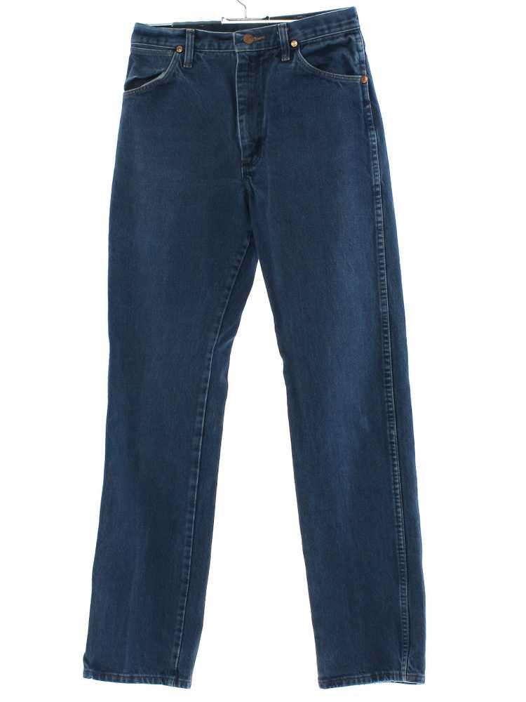 1980's Wrangler Mens or Boys Wrangler Denim Jeans… - image 1