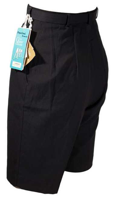 1960s Black Bermuda Shorts