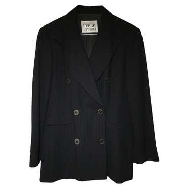 Gianfranco Ferré Suit Viscose in Black
