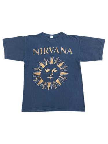 vintage nirvana nevermind bootleg tee shirt 90s ku
