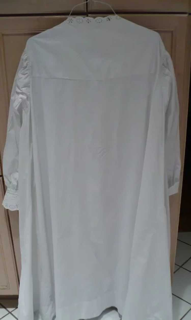 Victorian Eyelet Nightgown - image 4