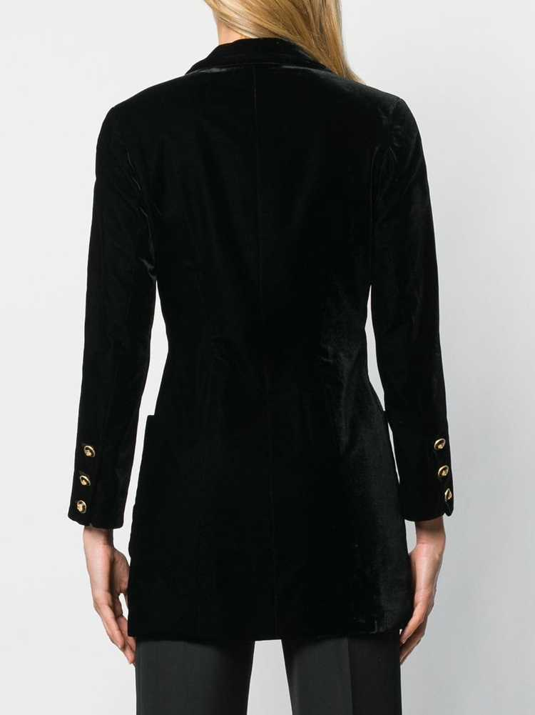 Chanel Pre-Owned 1990's nautical jacket - Black - image 4