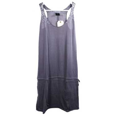 Zadig & Voltaire Grey Cotton dress for Women 32 FR