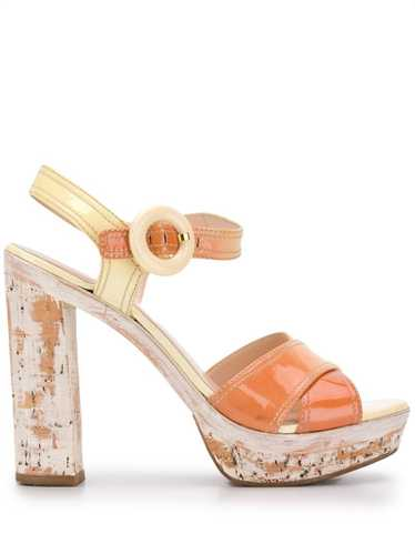 Prada Pre-Owned - 2000s platform sandals - women -