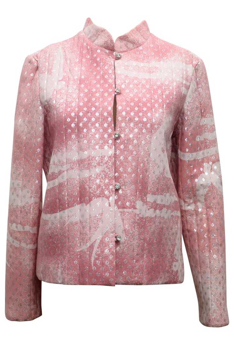 Quilted patterned jacket - image 1