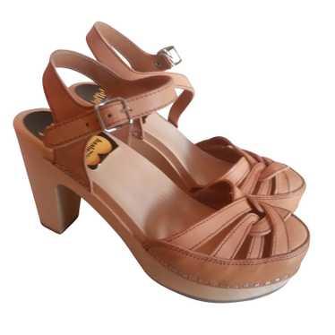 Swedish Hasbeens Platform sandals