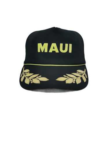 Trucker Hat × Vintage VINTAGE MAUI TRUCKER HAT CAP