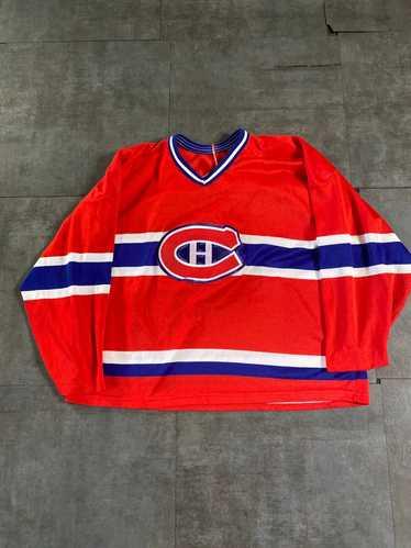 NHL × Vintage Vintage 80's Montreal Canadiens Jers