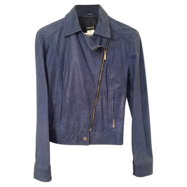 Versace Leather jacket BY VERSACE JEANS