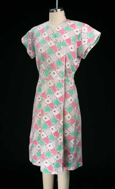 Vintage 1930's Feedsack Dress - image 1