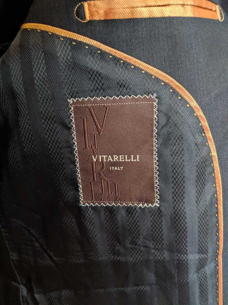 Italian × Italian Designers Vitarelli herringbone… - image 4