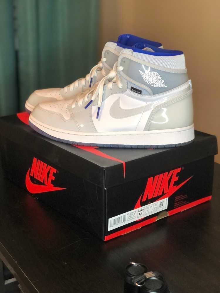 Jordan Brand × Nike Jordan 1 Zoom High Racer Blue - image 1