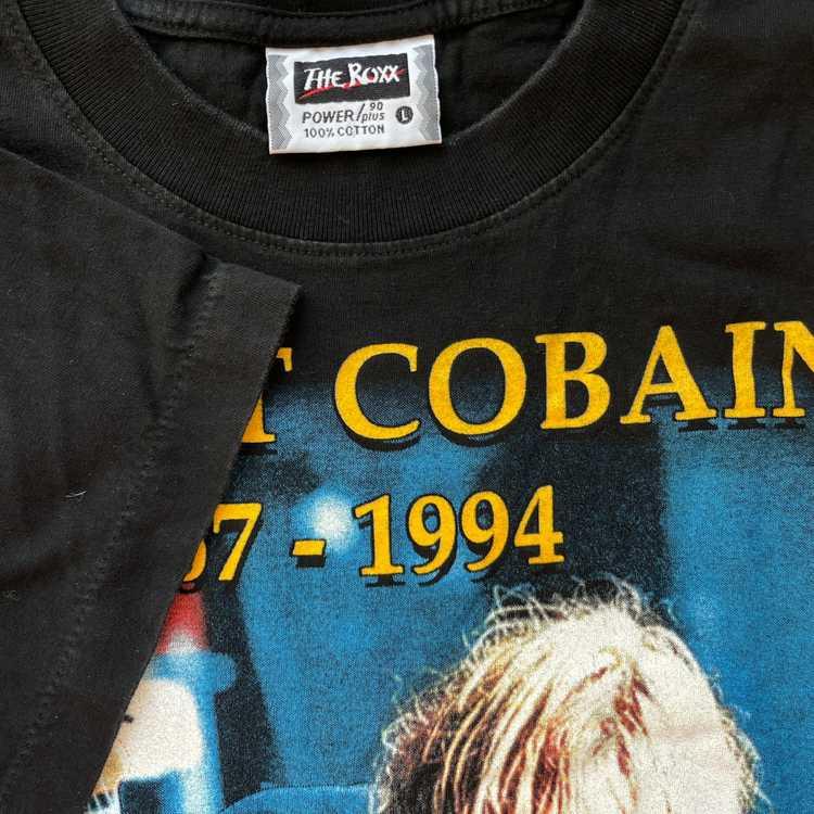 Vintage Nirvana Kurt Cobain T-shirt - image 4