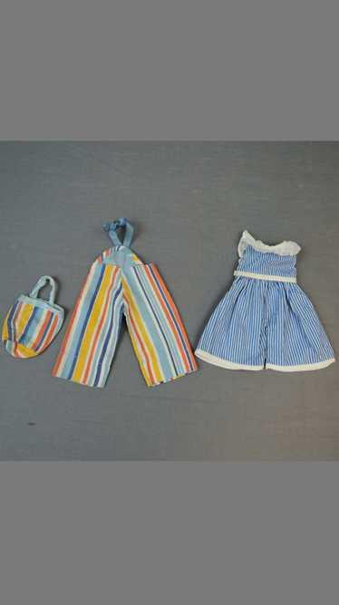 Vintage Doll Beach Pajamas & Purse and Romper, 19… - image 1