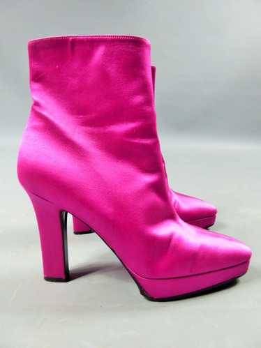 Shocking Pink Shoes Yves Saint Laurent