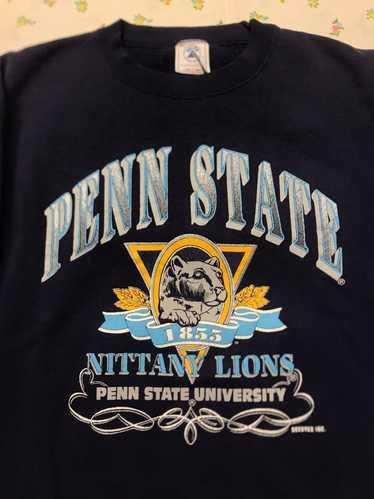 XL Big 10 college sweatshirt vintage football pullover Vintage 80s Penn State University Nittany Lion 1980s NCAA College Sweatshirt