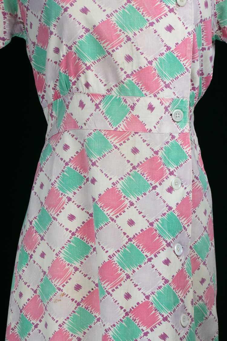Vintage 1930's Feedsack Dress - image 3