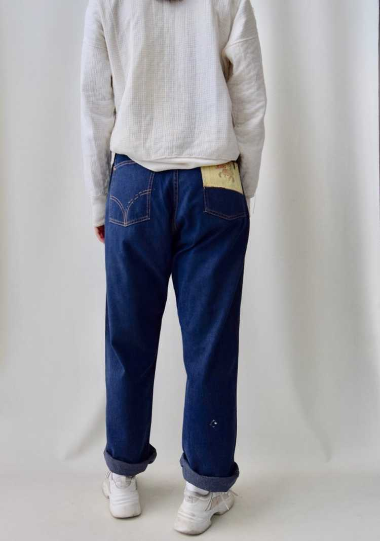 """Fifties """"Caribou Rider"""" Side Zip Jeans - image 5"""