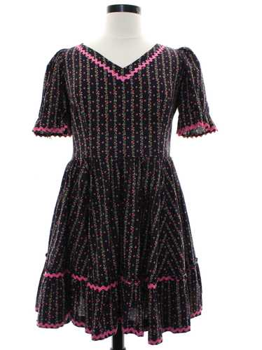 1960's Square Dance Dress