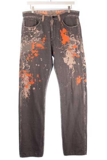 APOC Jacquard Paint Splatter Pants