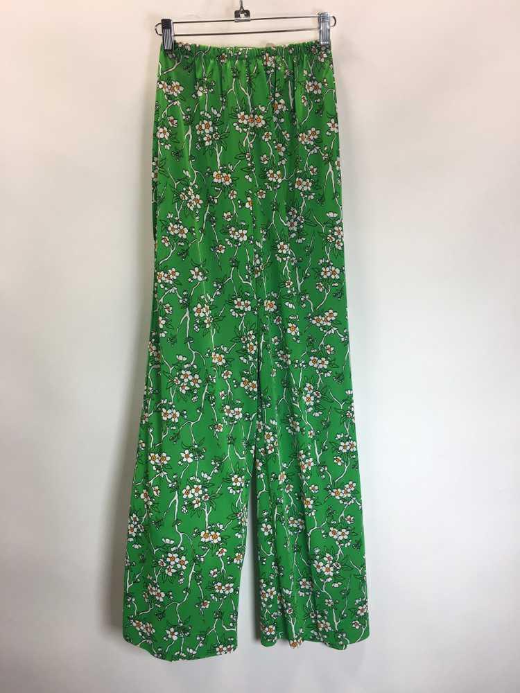 70's Palazzo pants Suit - image 3