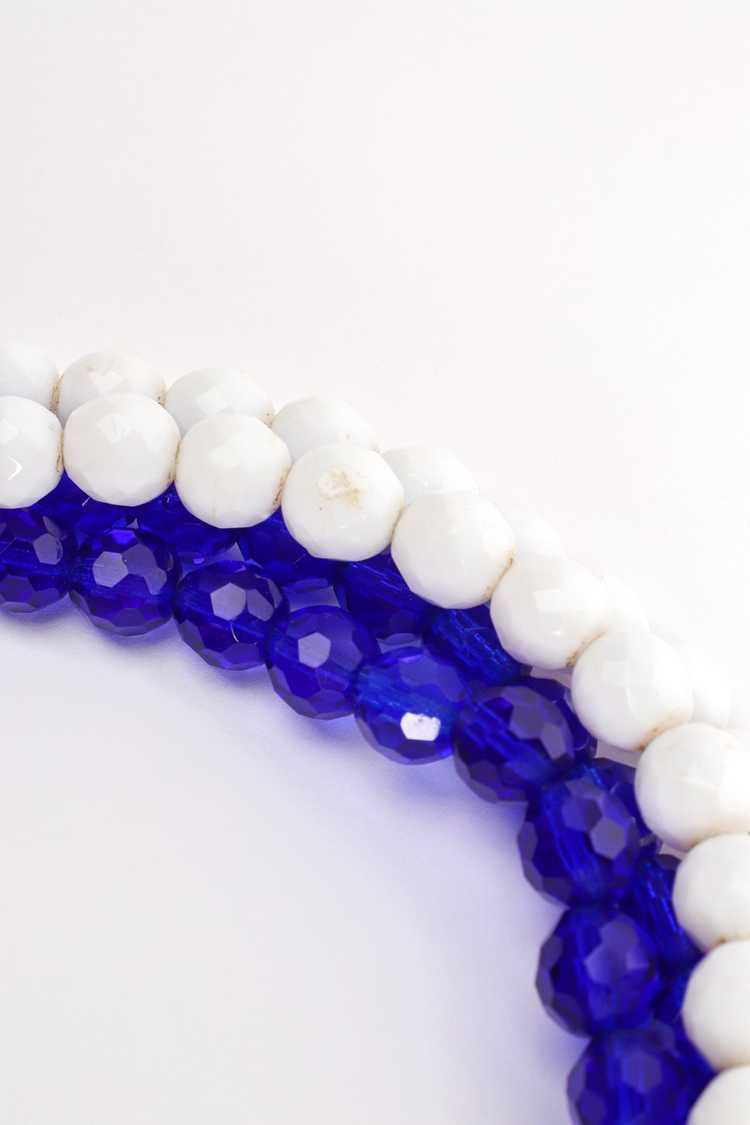 ARNOLD SCAASI Multi-Strand Cabochon Bead Collar - image 12