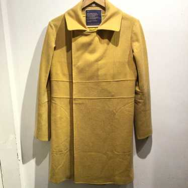 Beauty:Beast yellow double breasted coat