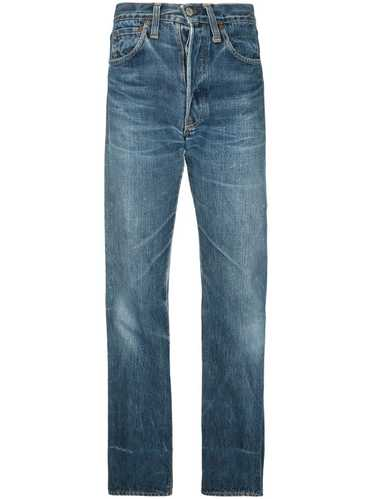 Fake Alpha Vintage 1940s straight-leg jeans - Blue