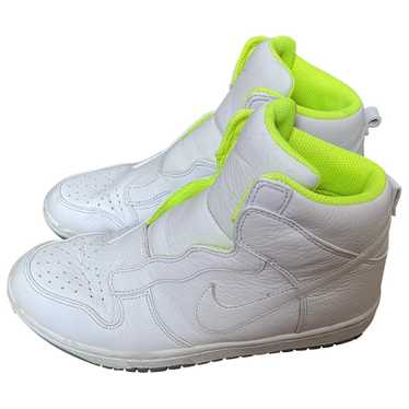 Nike X Sacaï White Leather Trainers for Women 40.5