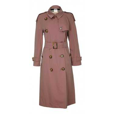 Burberry Pink Cotton Trench coat for Women 12 UK