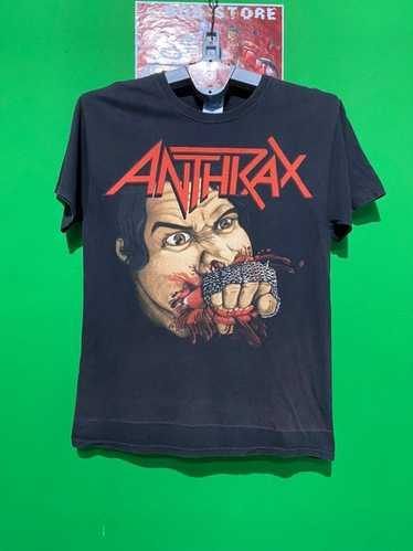 Band Tees × Rock Tees × Vintage Vintage Anthrax b… - image 1