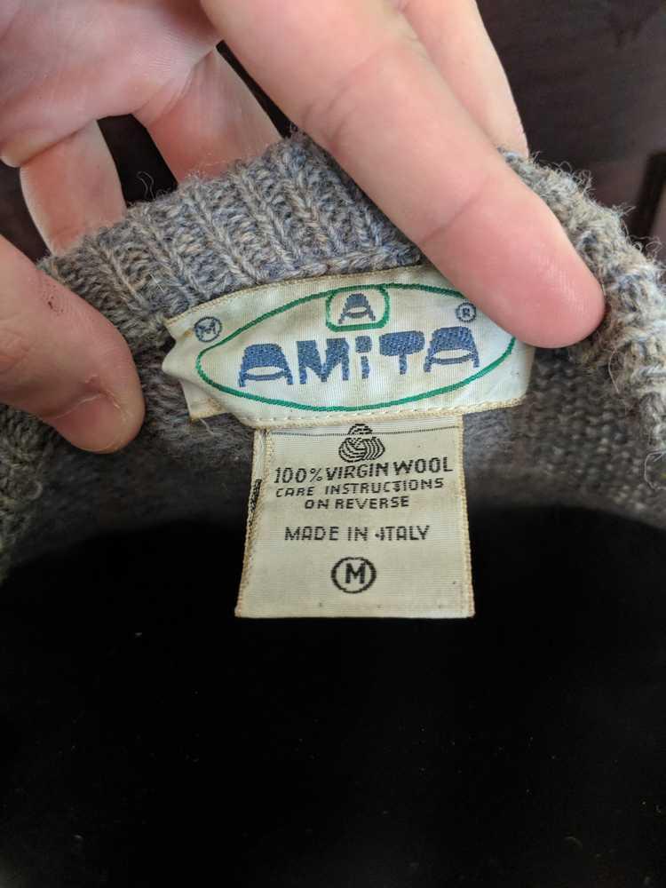 Italian × Italian Designers Amita vintage wool ar… - image 2