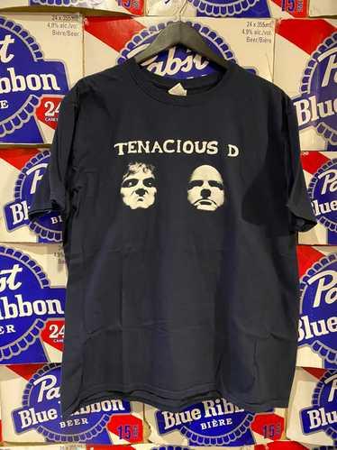Vintage Original 00s Tenacious D  Fueled by Satan  American Rock Comedy Music T-Shirt