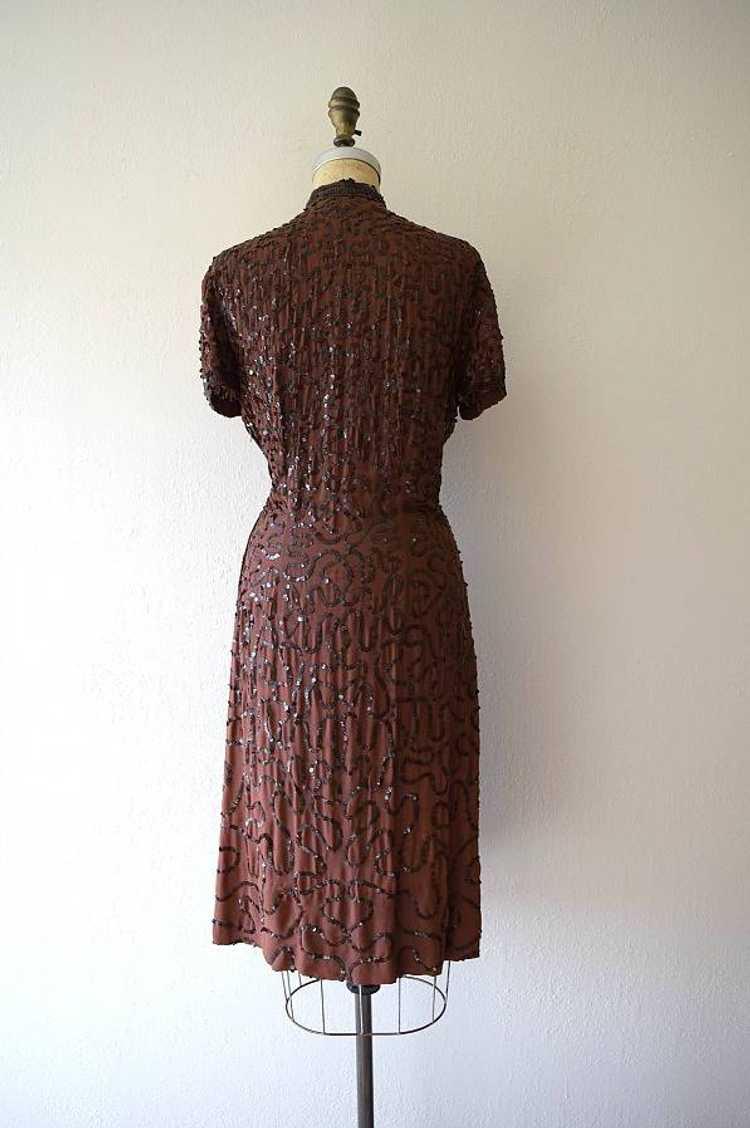 1940s Ceil Chapman dress . vintage sequin dress - image 3