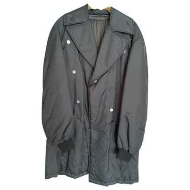 Raf Simons Grey Cloth coat for Men 46 FR