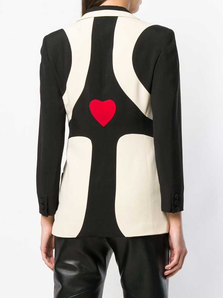 Moschino Pre-Owned 1990's graphic pattern blazer … - image 4