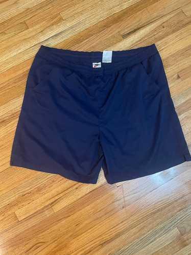 Nike × Vintage Vintage 90's Navy Nike Shorts