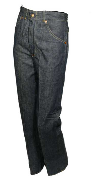 1930s Denim Ranch Pants