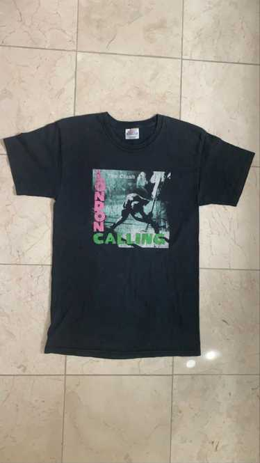 Band Tees [Hanes] [Vintage] 90s The Clash London C