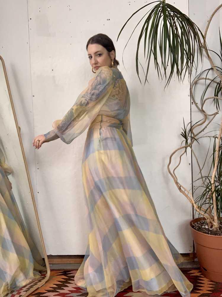 RARE 1940s Ceil Chapman Gown - image 8