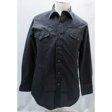 Other Kenny Rogers M Black Long Sleeve Western Sh… - image 1