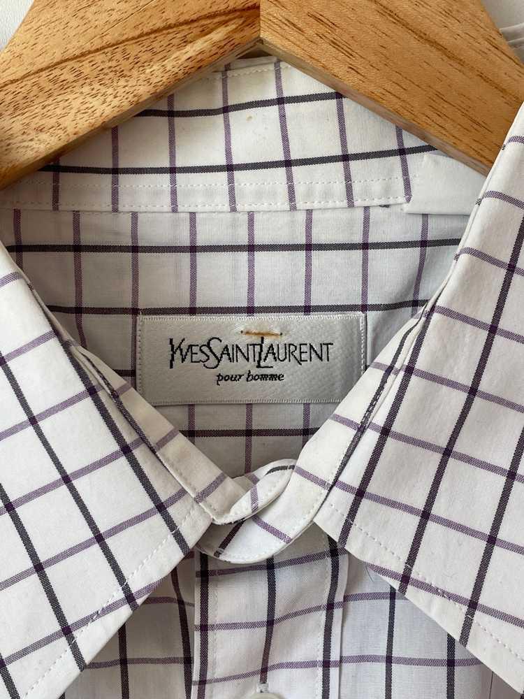 Yves Saint Laurent Yves Saint Laurent Shirt vinta… - image 4