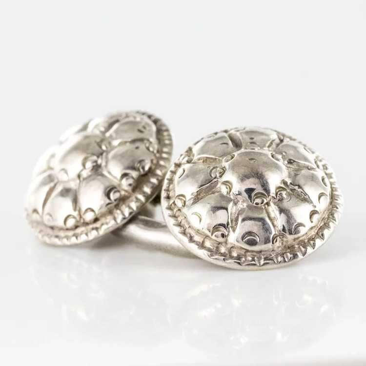 French 18th Century Sterling Silver Cufflinks - image 9