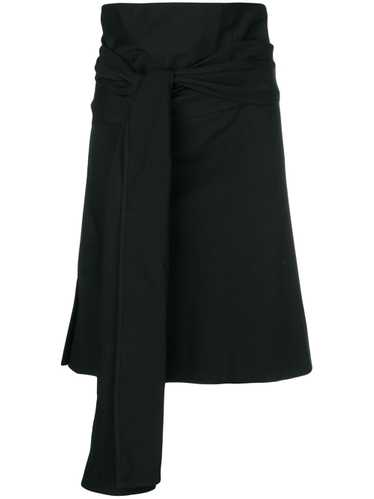 Romeo Gigli Pre-Owned knot detail wrapped skirt -