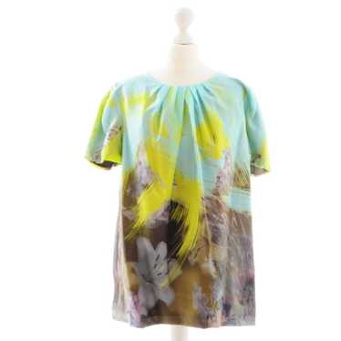 Matthew Williamson Green silk shirt