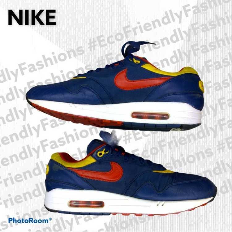 """Nike Nike Men's Blue Air Max 1 """"snow Beach"""" Polo … - image 5"""